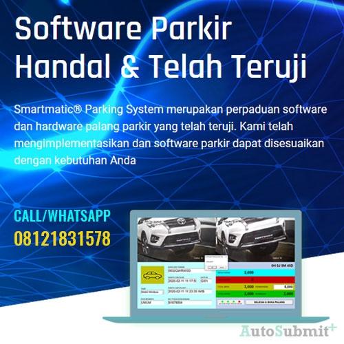 Penggunaan Software Parkir dan Palang Parkir Bergaransi